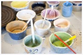 Peintures à base d'oxydes