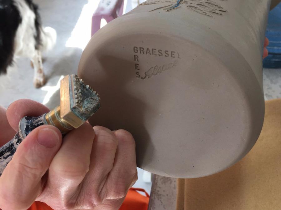 Poterie Graessel d'Alsace